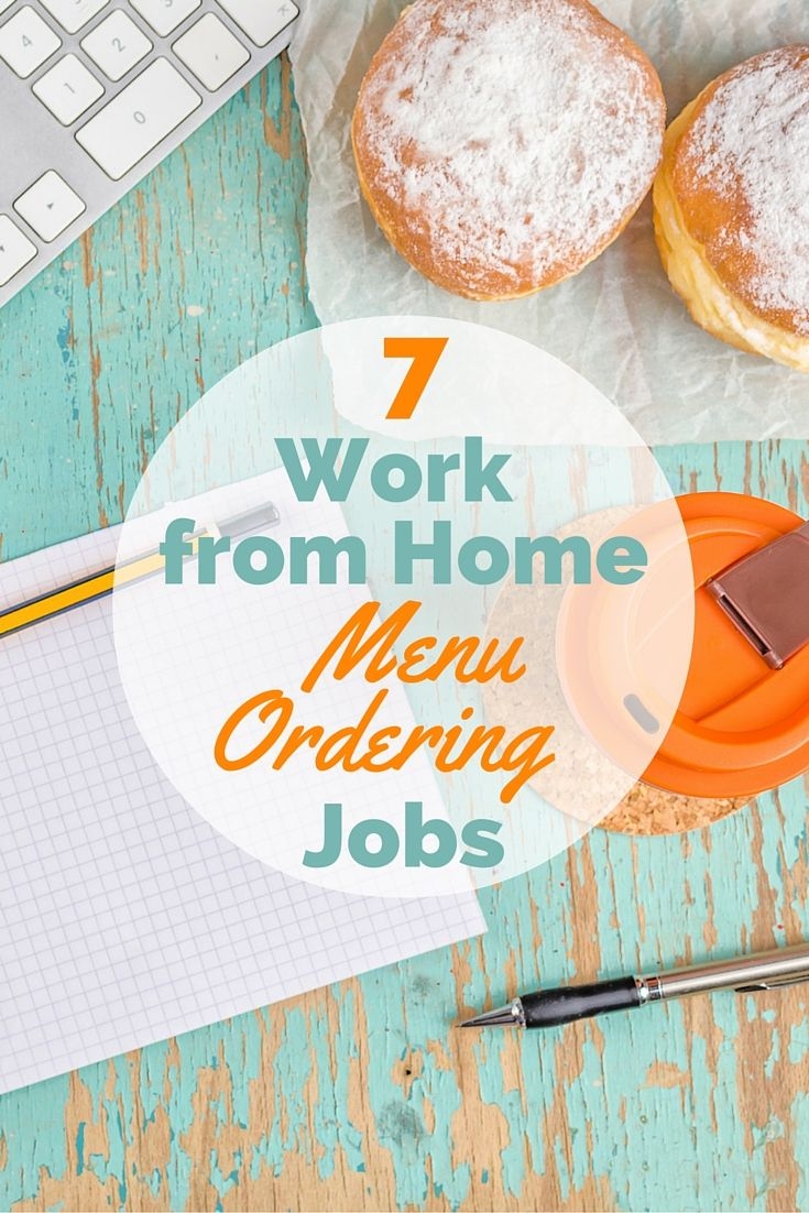 17 best images about work from home jobs work from 7 work from home food order jobs