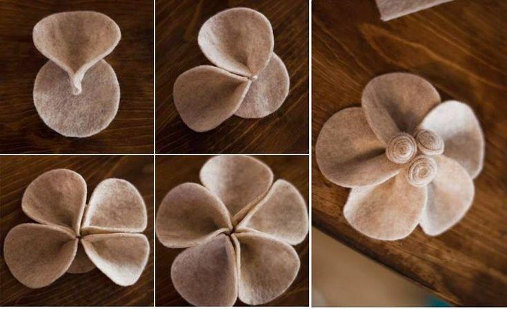. Keçe çalışmalarınızda kullanabileceğiniz çiçek kalıpları,modelleri Rengarenk keçe çiçek modelleri:) Küçücü...