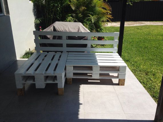 Patio sectional made from pallets patio by reusereclaimsustain
