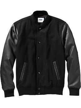 #SantaPakSweeps Men's Varsity Jacket $70 at OldNavy.com #SantaPakSweeps