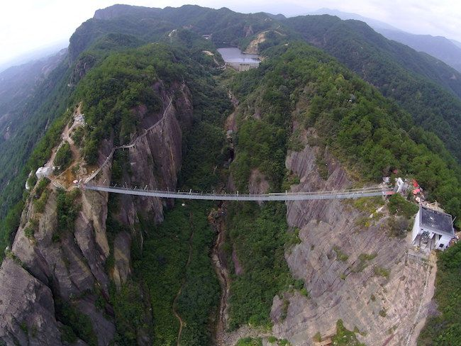 The world's longest and highest glass bridge in China's Hunan Province has reopened, following a security inspection. Though rumors claimed the bridge had closed for safety reasons, Local Cili County Magistrate Gao Jingsheng says the