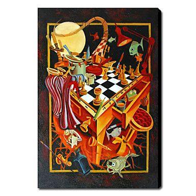 【今だけ☆送料無料】 アートパネル  抽象画4枚で1セット ファンタジー ミラクル チェス 魔法【納期】お取り寄せ2~3週間前後で発送予定