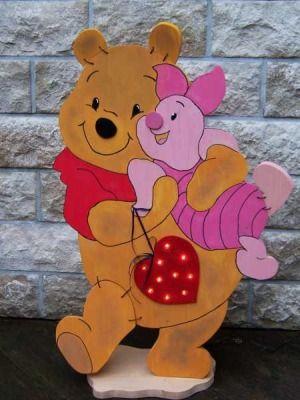 Die Bastel-Elfe, alles rund ums Basteln - Winnie Pooh