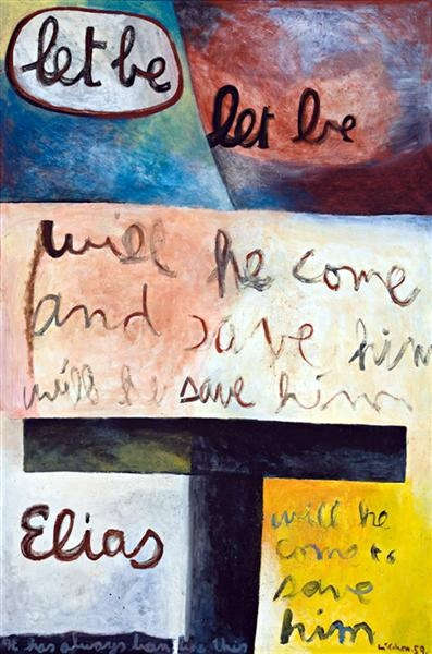Let be, Let be    Colin McCahon