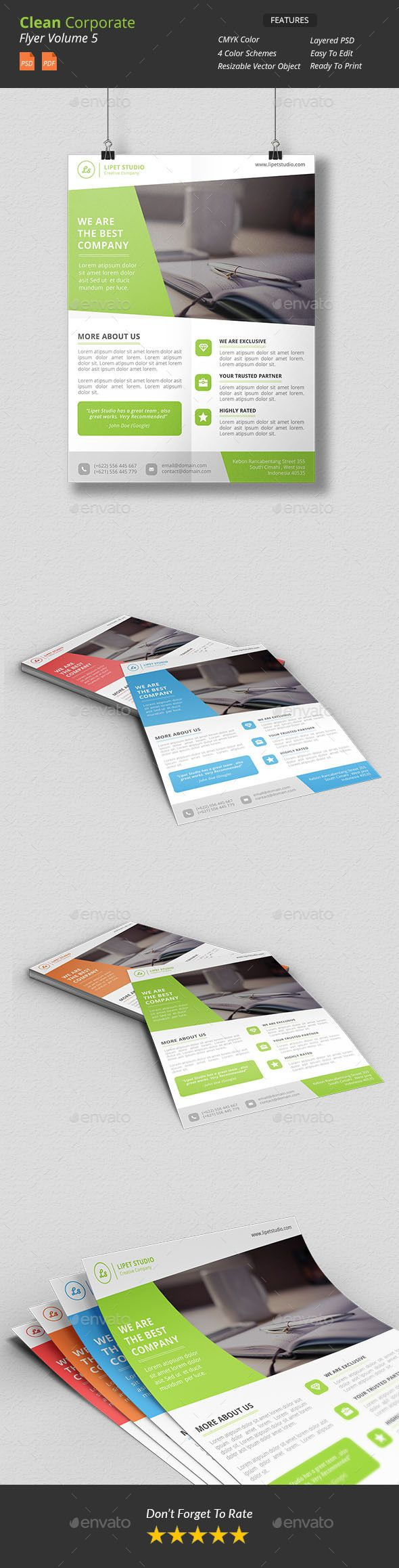 Clean Corporate Flyer v5