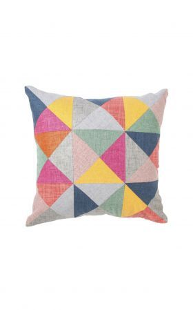 Small Patched Cushion - Bright from Form.Function.Style