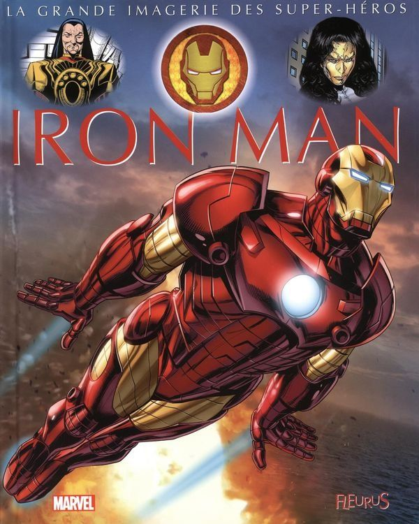 Iron Man: La grande imagerie des super-héros - Sabine Boccador