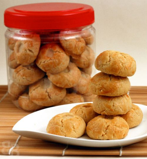 Chinese New Year peanut cookies | Bread et Butter