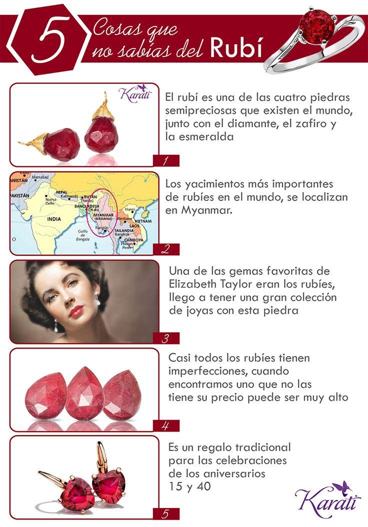 Los #rubíes son una de las gemas preferidas por las mujeres, conoce más sobre ellos aquí.