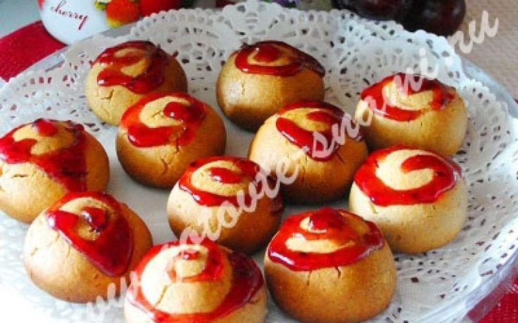 Печенье из варенья