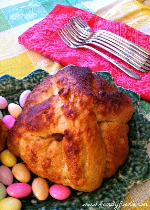 Portuguese Easter Bread Folar de Pascoa
