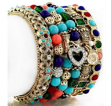 R.J. Graziano Global Getaway Set of Six Comfort Bracelets #ilovetoshop