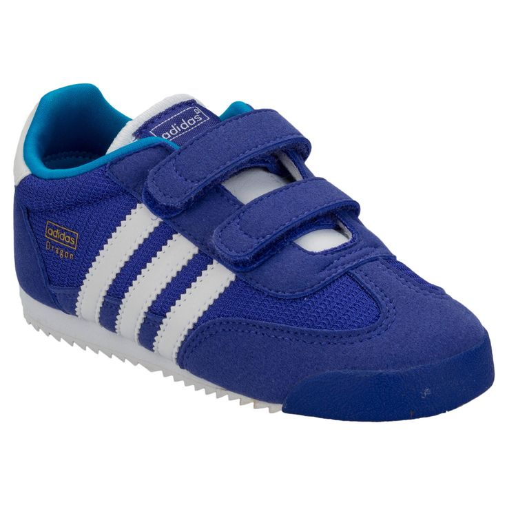 Boys | Blue Infant Boys Dragon Trainers | Get The label