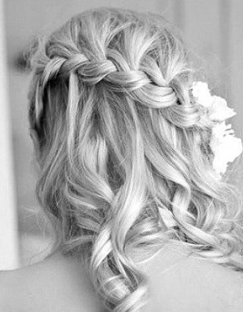 Awesome Long Blonde Homecoming Hairstyle with Braid » Homecoming Hairstyles