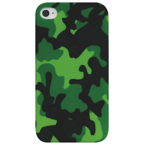 Exian iPhone 4/4S Case (4G046) - Green                         - Web Only
