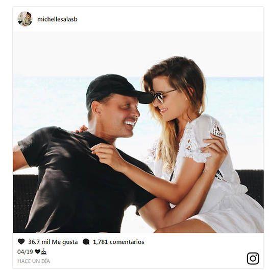 Michelle Salas Luis Miguel Instagram