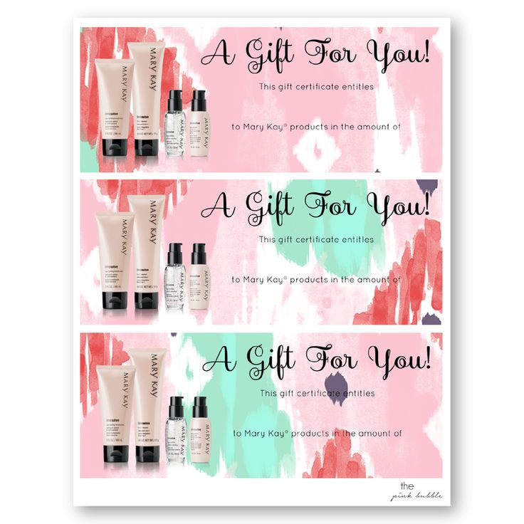 Gift Certificates DI02.png Mary kay gift certificates