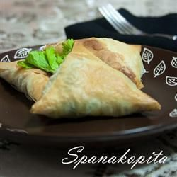 Cheese and Spinach Pie (Spanakopita) @ allrecipes.co.uk