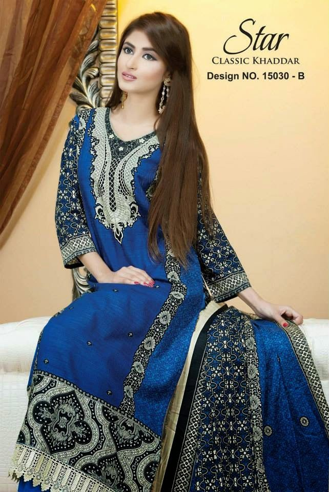 Star Classic Khaddar 2014 & 2015 | Winter Wear Shalwar Kameez