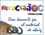 fer jocs amb material reciclat http://www.xtec.cat/~fmarti58/reciclajoc/interficieinici/queesreciclajoc.htm