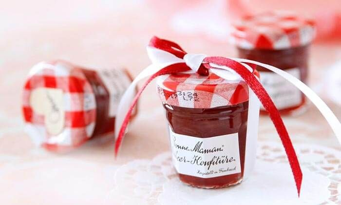 Gastgeschenk Marmelade