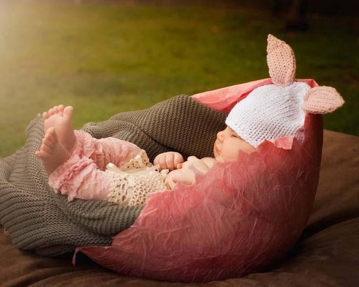 Pink Newborn Lacettes