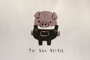 Pig Limited Edition Tote Bag - The Dam Keeper