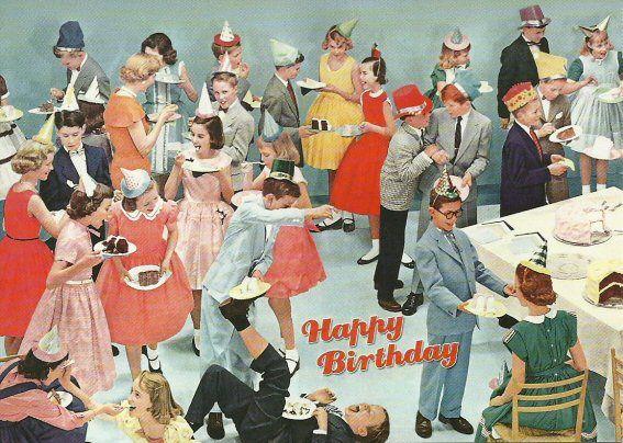 Happy Birthday Party. #HBD #Kids #Vintage #Fun