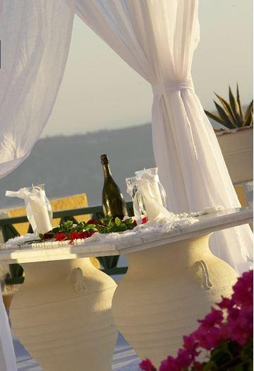 Wedding venue #Dana villas #Santorini