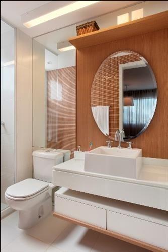 Banheiro pequeno | via Simplesdecoracao.                                                                                                                                                                                 Mais