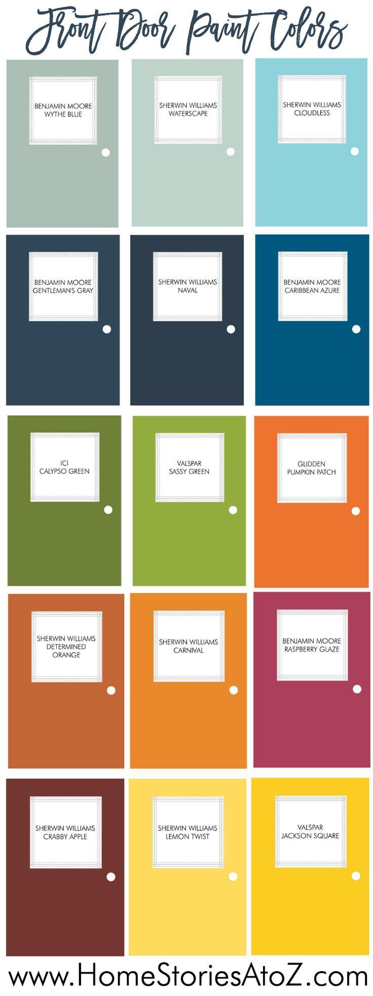 Best 25+ Exterior door colors ideas on Pinterest   Best ...