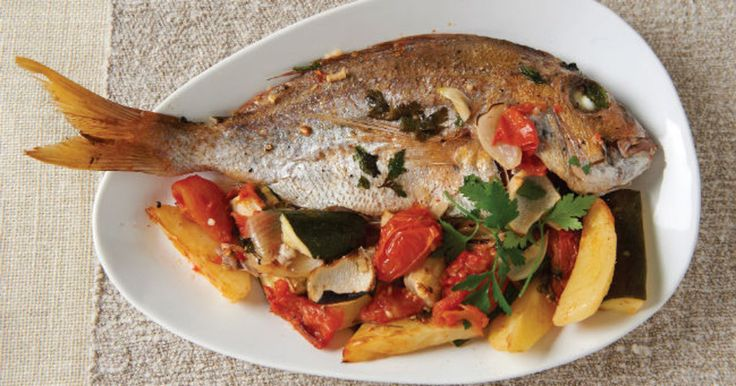 Much-love Melbourne chef, Mary Valle, shares one of her favourite Med-inspired dishes, baked fish with summer vegetables. Ingredients Serves 4-6 2 onions, peeled and quartered 2 cloves garlic, finely …