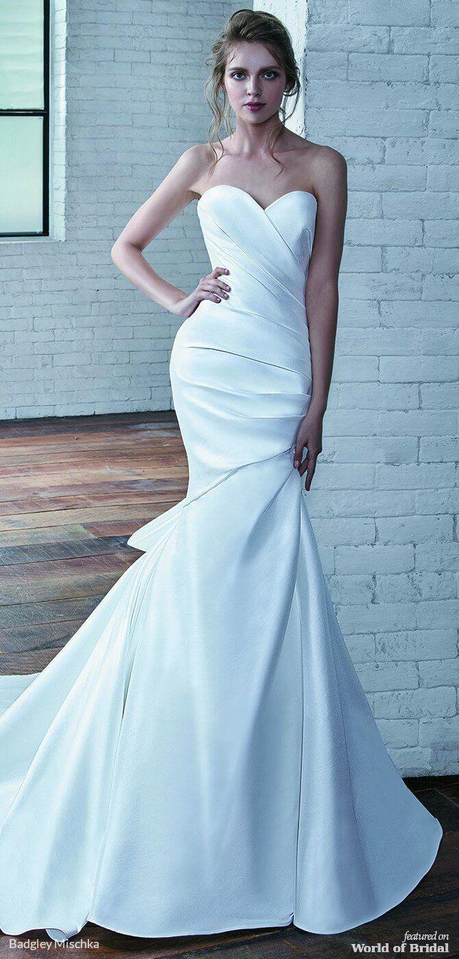 4e1d81e9eea Badgley Mischka 2019 Wedding Dress Strapless Sweetheart Neckline