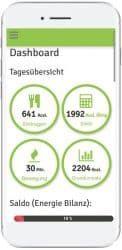 Die App Ernährungstagebuch Deluxe berechnet für uns die Kalorien!