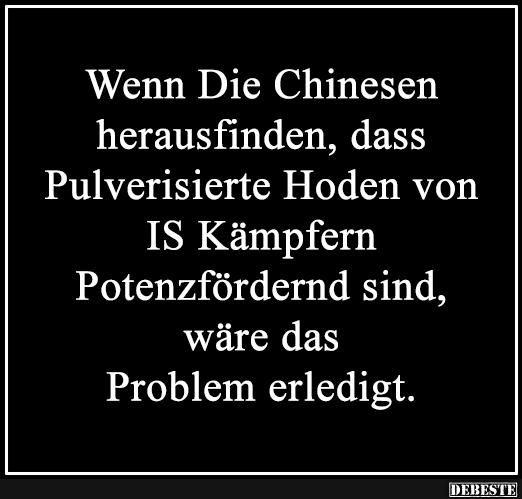 Wenn Die Chinesen herausfinden..