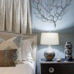 kahverengi bej ve mavi dekorasyon fikirleri yatak odasi oturma odasi yemek odasi renkleri (8)