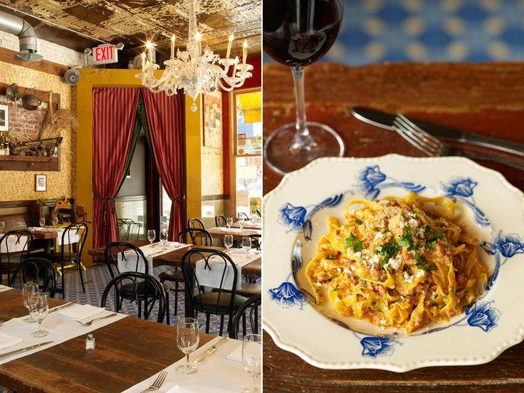 Al di La Trattoria, 248 Fifth Avenue, at Carroll Street, Park Slope (718-783-4565 or aldilatrattoria.com) Best Italian Restaurants NYC   New York - DailyCandy