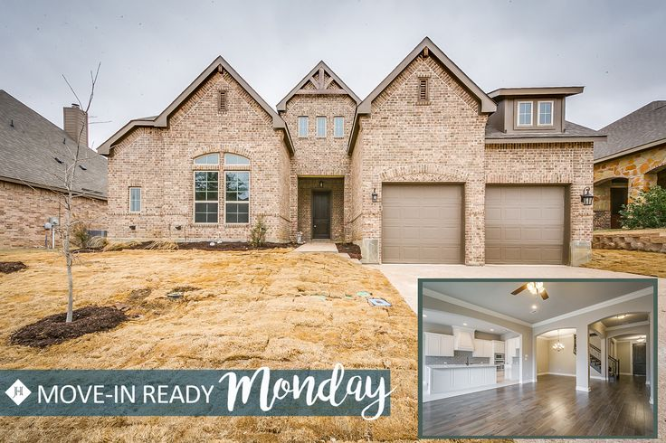Our #moveinreadymonday this week can be found in our Badger Ranch community located in Woodway, Texas. Call to schedule and appointment today! 866.646.6008#buildyourstorywithus