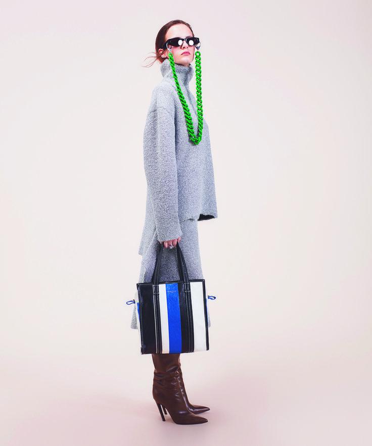 Léa Holzfuss by Benjamin Lennox for Printemps Department store Paris | Balenciaga AH 2016