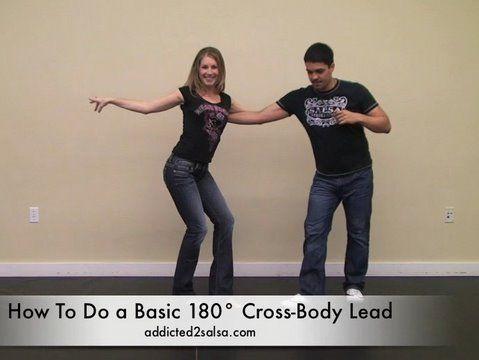 Want to learn   Salsa Dancing Cross Body Lead 180