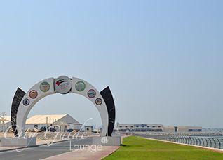 Tandem-Fallschirmsprung Dubai buchen, SkyDive über der Palmeninsel