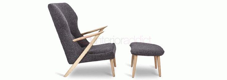 Nilsson Chair and Stool   Interior Addict