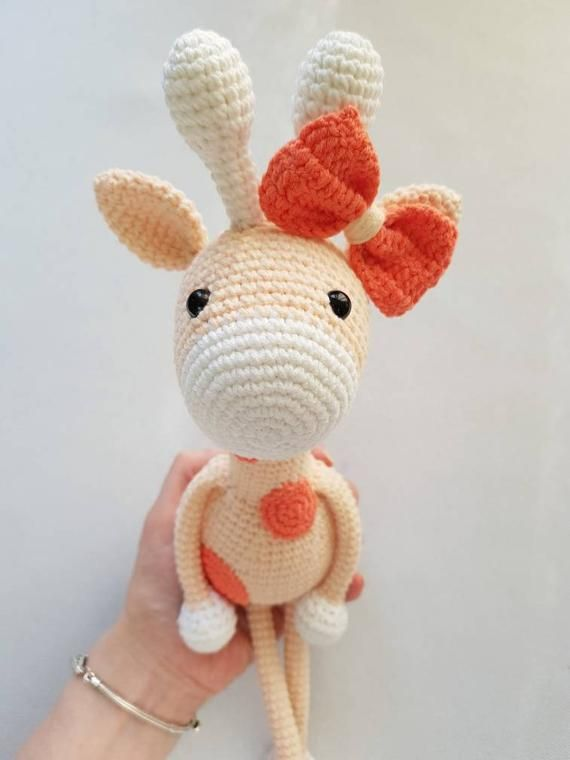 Amigurumi Pattern: Alfa Giraffe in 2020 | Giraffe crochet, Crochet ... | 760x570