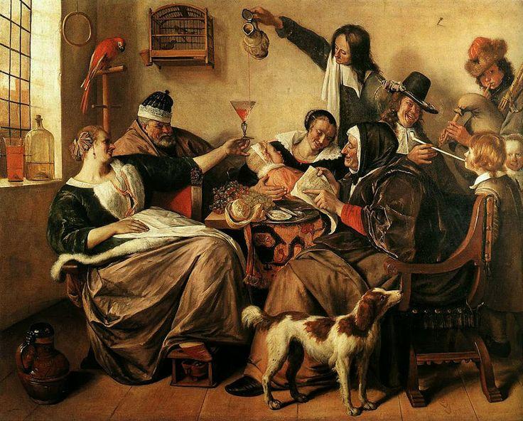 Steen, Artist's Family c1665