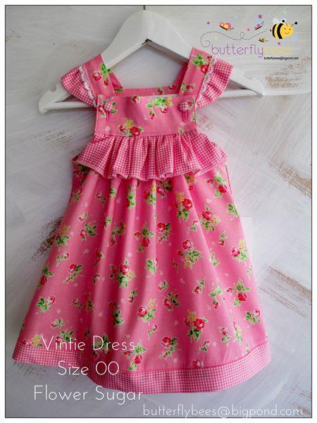 Vintie Dress Size 00 | Butterflybees | madeit.com.au