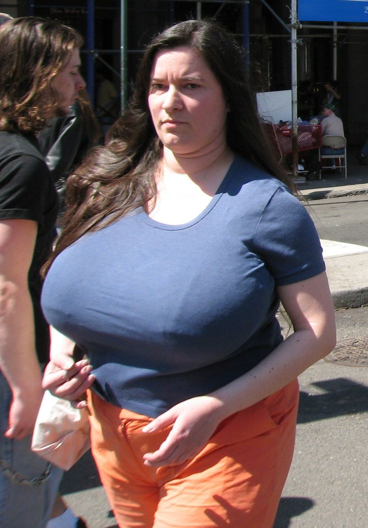 Clothed busty big tits boobs