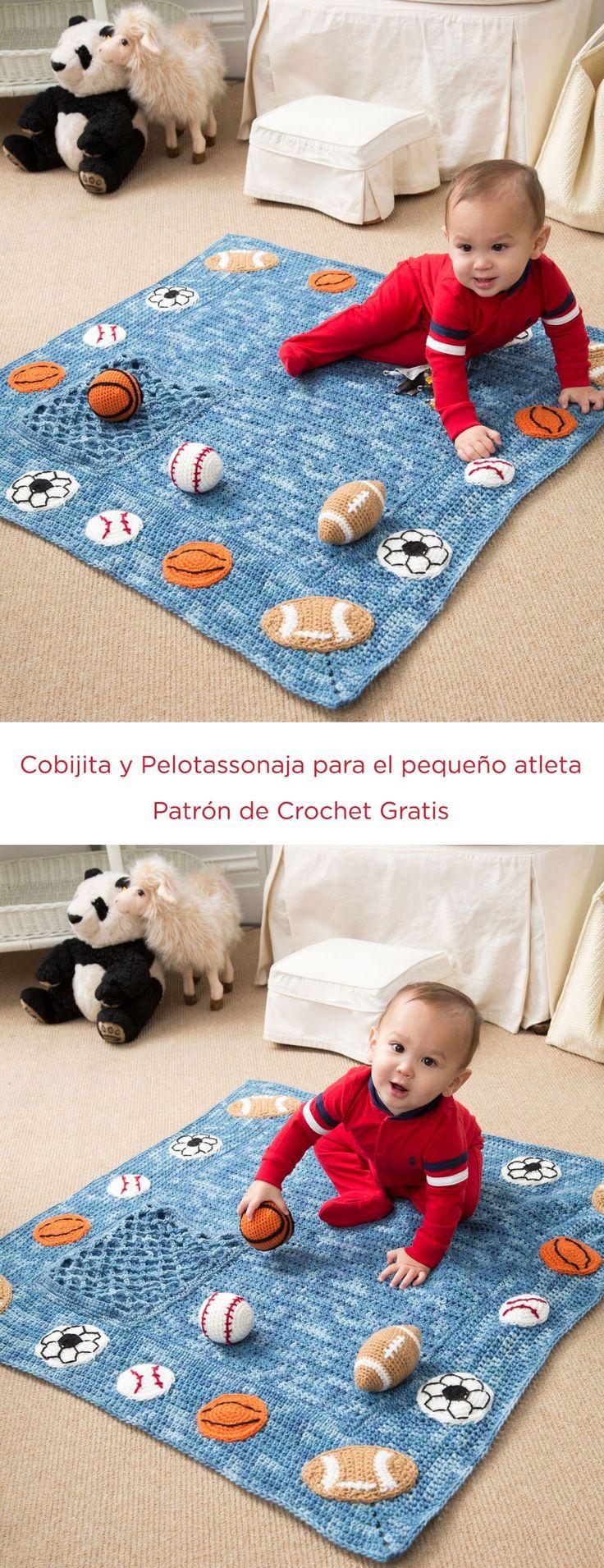 Cobijita y Pelotassonaja para el pequeño atleta Instrucción a Gancho