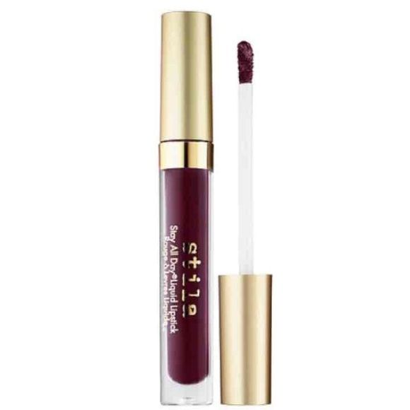 NIB STILA LIQUID LIPSTICK SHADE: CHIANTI Liquid matte lipstick. Color: Deep plum Stila Makeup Lipstick