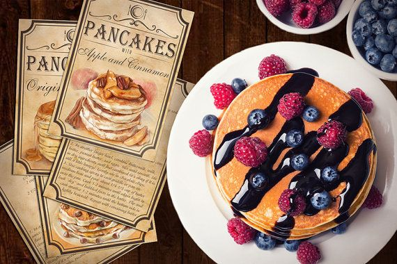 Recipes For best Pancakes Recipe Ideas by BlueberryDreamDesign