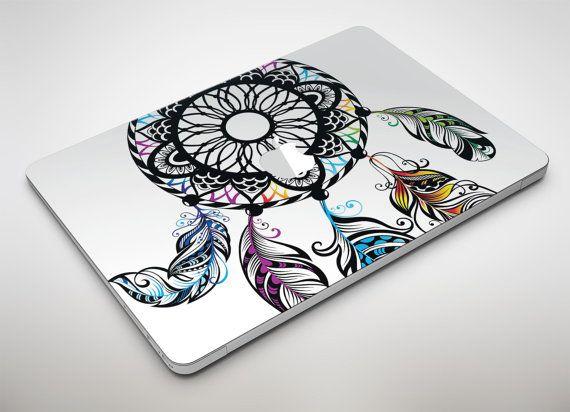 Atrapasueños fantasía Apple MacBook Air o Pro piel etiqueta